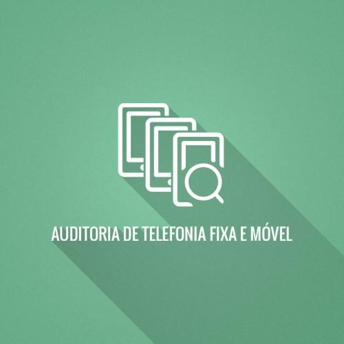 Auditoria de Telefonia Fixa e Móvel