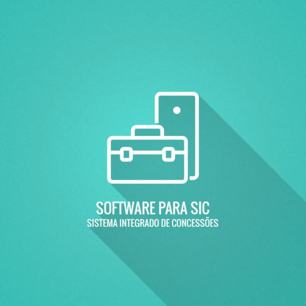 Software para Sistema Integrado de Concessões (SIC)