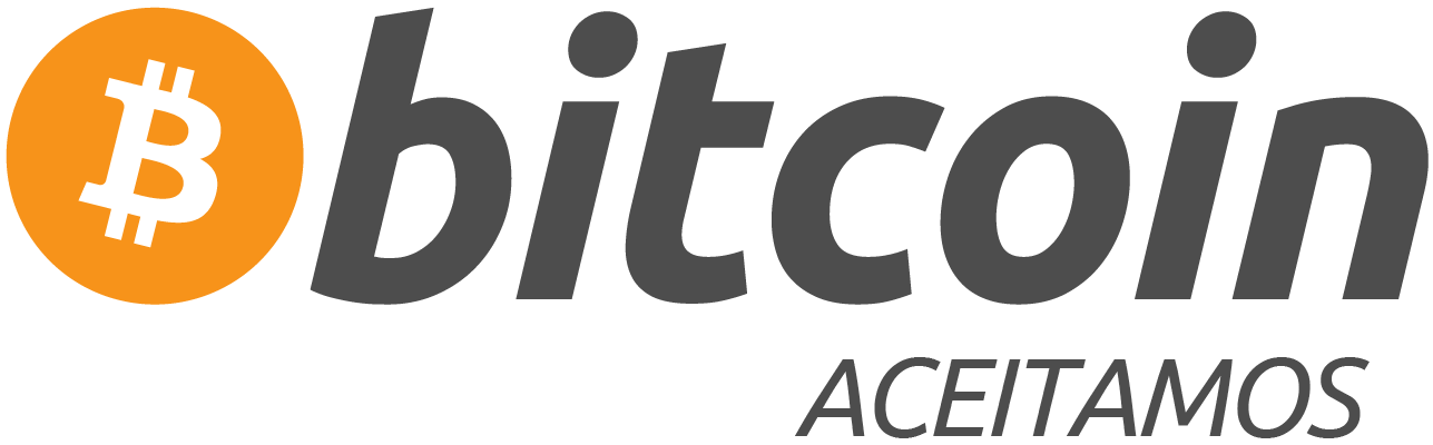 aceitamos bitcoin