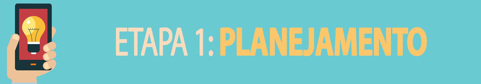 Como criar um aplicativo: a primeira etapa do desenvolvimento de seu aplicativo é a de planejamento.