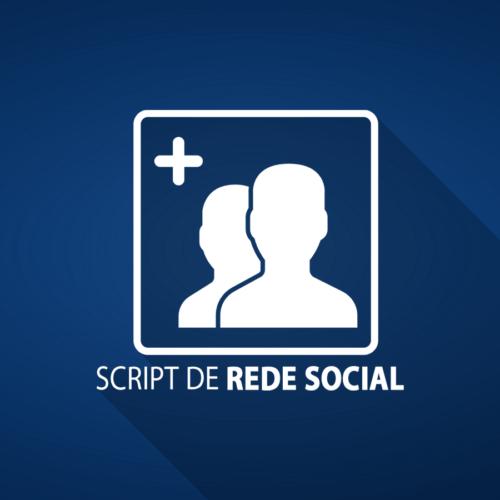 Script de Rede Social