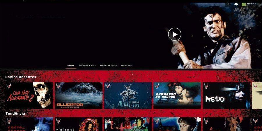 """Darkflix, a """"Netflix brasileira do terror"""", será lançada em maio com 666 filmes"""