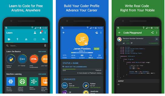 aplicativos para estudar programação