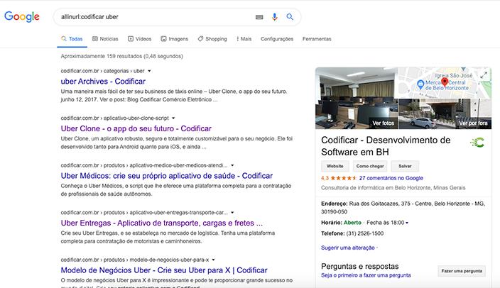 pesquisa avançada google