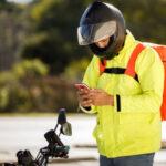 Aplicativos de entrega de moto